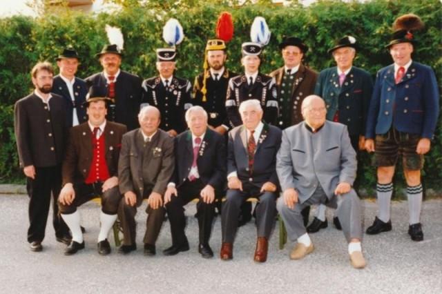 1992 Bezirksvorstandschaft
