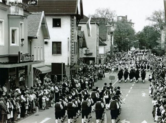 1957 5. Bundesmusikfest Weilheim
