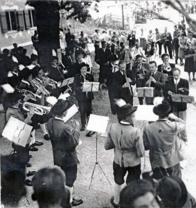1952 Standkonzert Eglfing