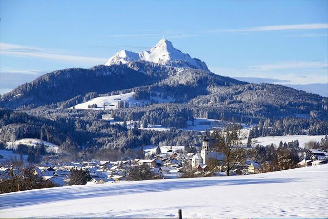 Berg im Winter