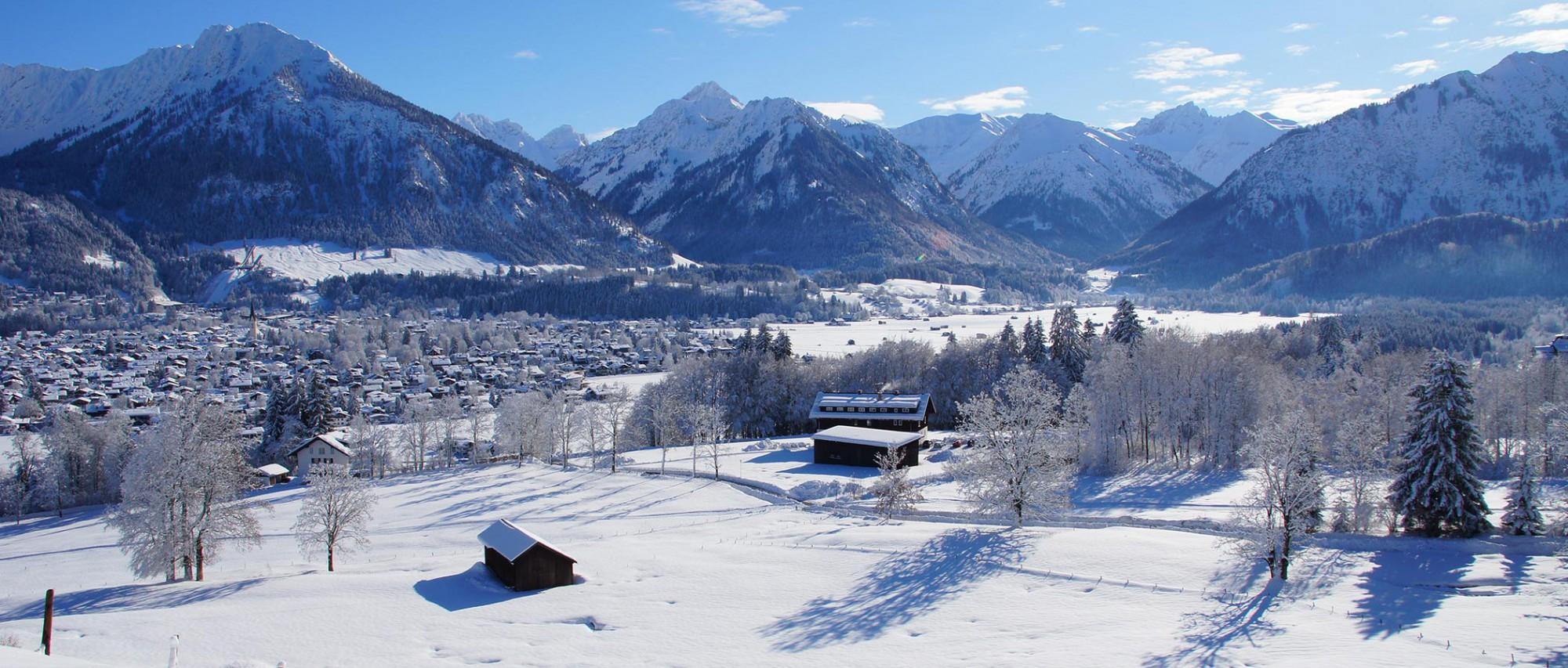 Urlaub in Oberstdorf