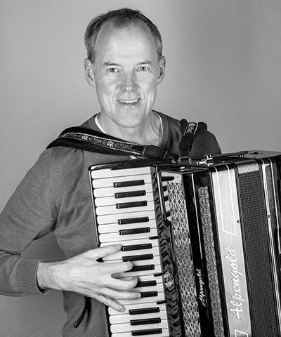 Bernhard Hagspiel<br>Akkordeon, Steirische Harmonika
