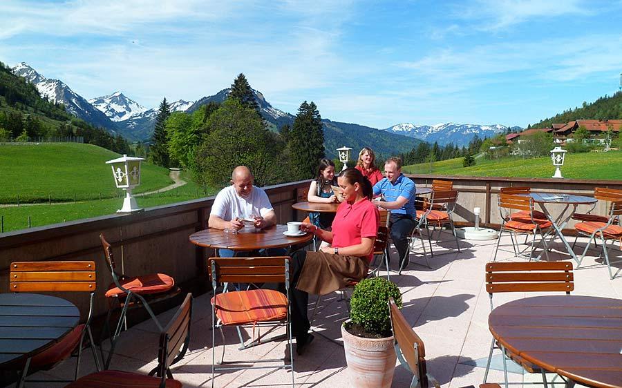 Terrasse Zum Alten Senn - Hotel und Ferienwohnungen direkt am Skilift