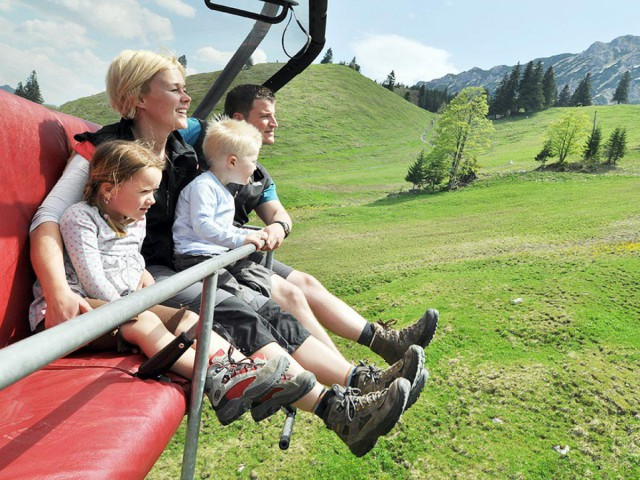 Bergbahn im Allgäu