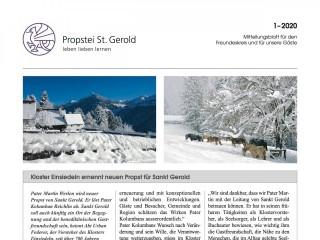 Neuausgabe der Propsteizeitung