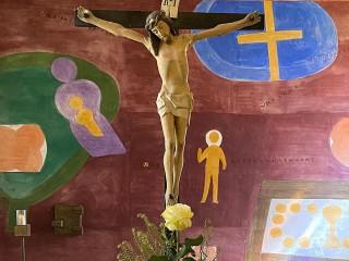 Stiller Karfreitag in der Propstei St. Gerold