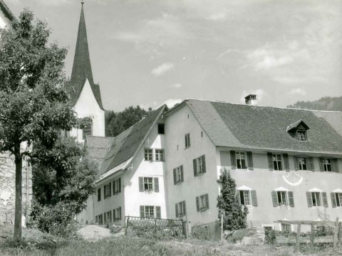 Sanierungen in der Propstei St. Gerold