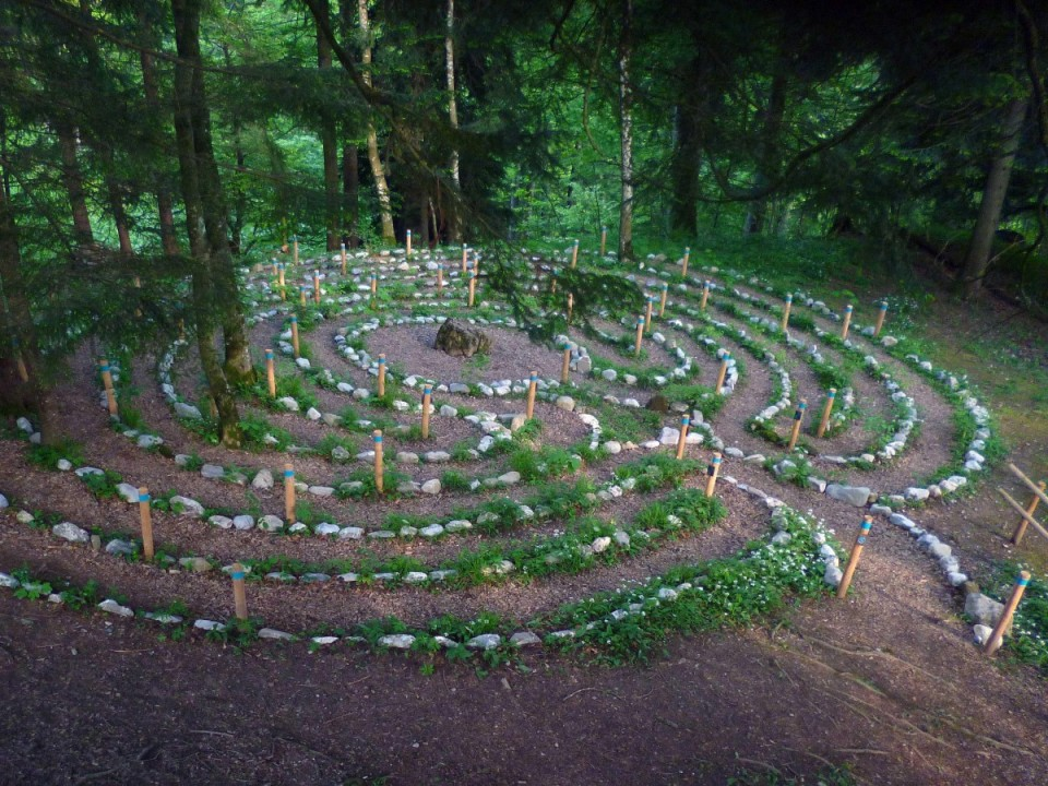 Das Labyrinth in St. Gerold