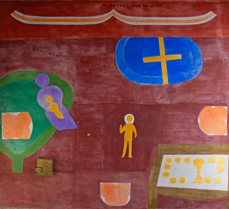 Gehr-Fresko Kirche