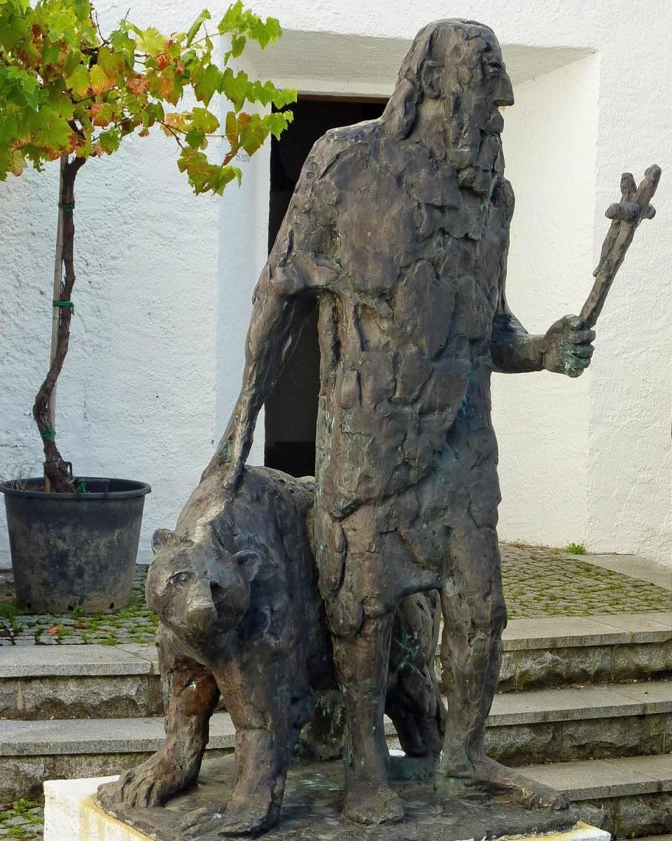 Gerold und Bär von Hugo Imfeld