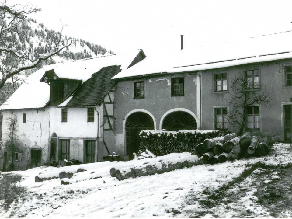 Propsteihof in den 1950er Jahren