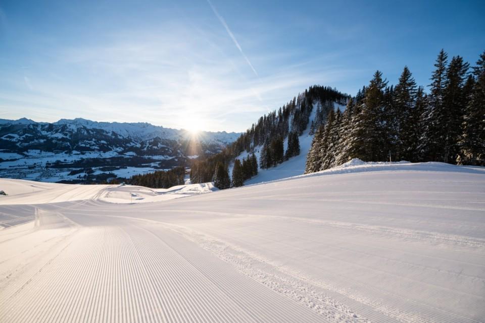 Skiparadies Oberallgäu direkt angrenzend.