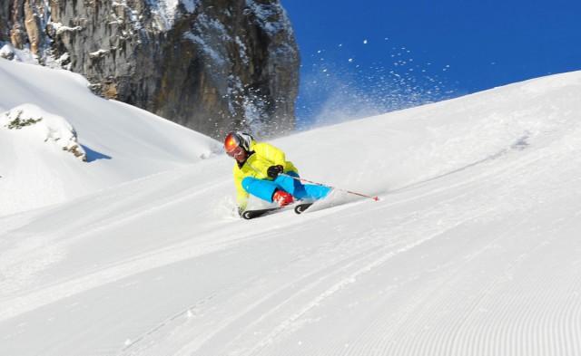 Skifahren in Riezlern im Kleinwalsertal