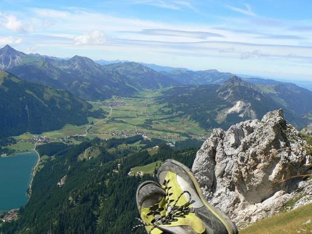 Klettern im Tannheimer Tal
