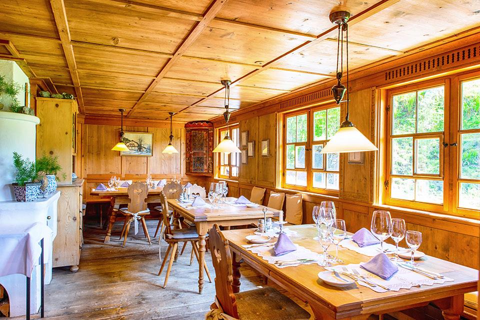 Alte Walserstube: Essen in Riezlern mit moderner Gastronomie