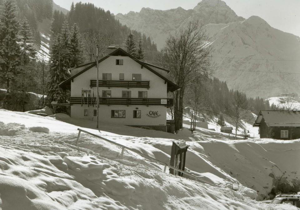 Geschichte des Almhof Rupp - ehemals Haus Café Fuchshofer