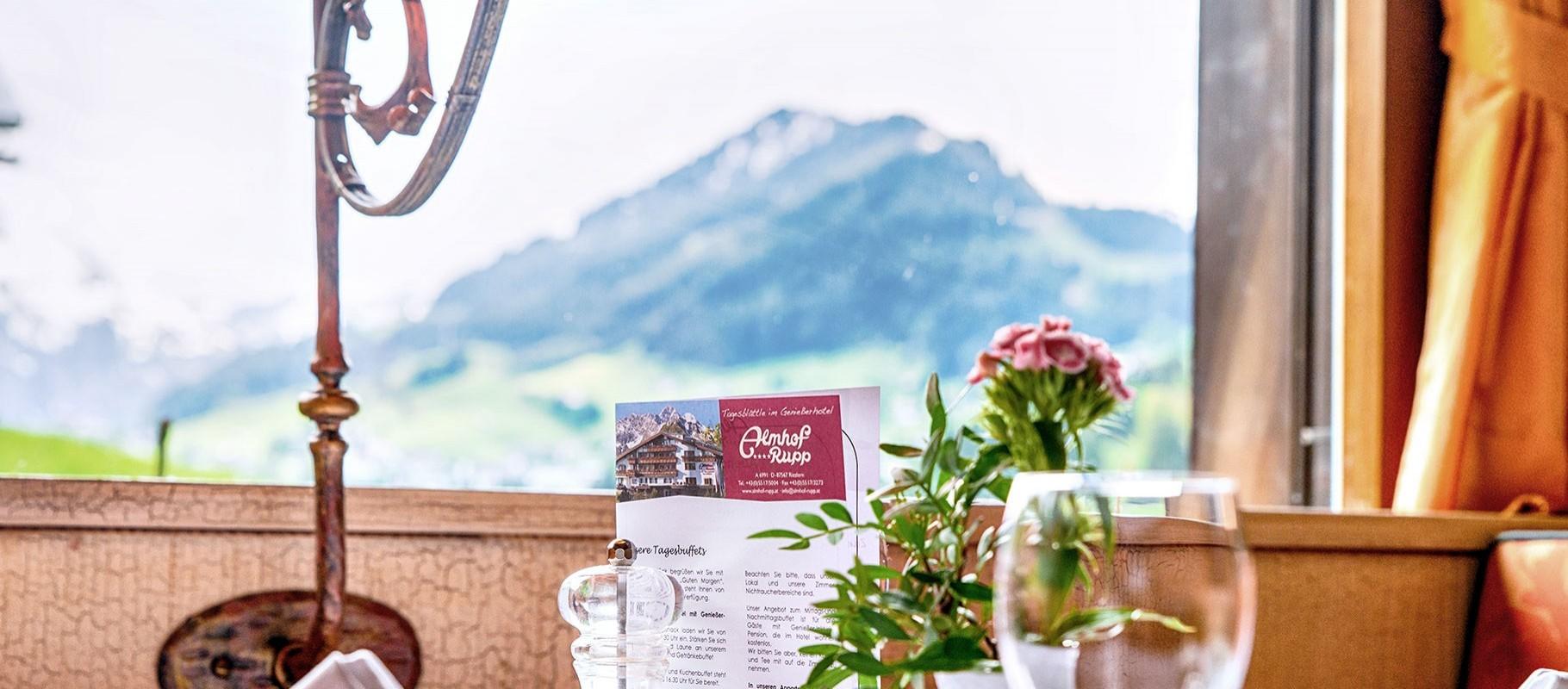 Genießerhotel in Riezlern, Vorarlberg in den Alpen