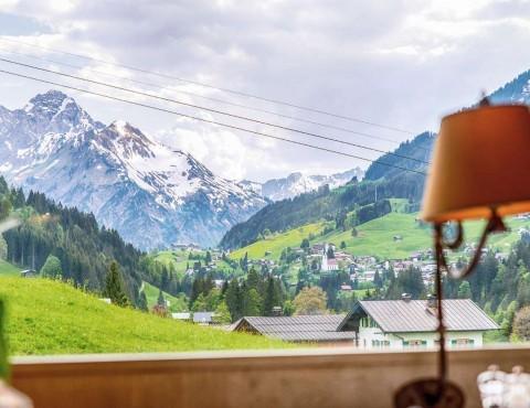 4 Sterne Hotel in Riezlern mit Blick ins Kleinwalsertal