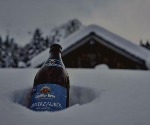Schnee. Allgäu. Genuss.