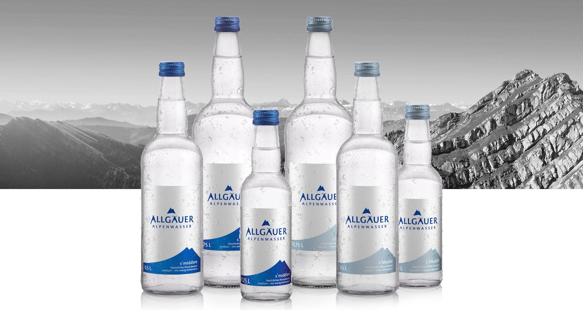 Allgäuer Alpenwasser