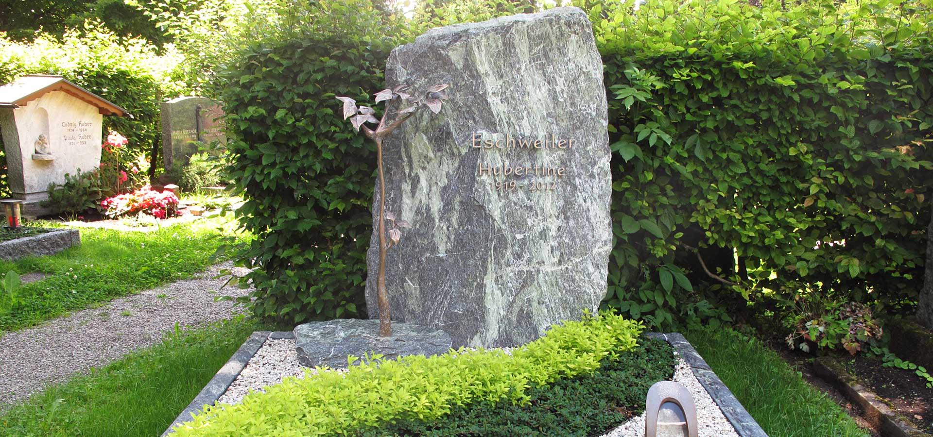 Willkommen bei Steinmetz Matthias Schleich in Oberstdorf