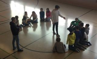 Sporthelferlehrgang der Klassen 8ab