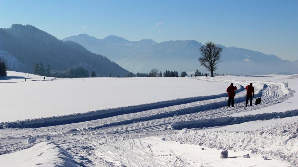 Langlauf- und Skatingloipen im Allgäu