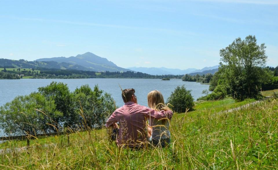 Urlaub nahe den Allgäuer Bergen
