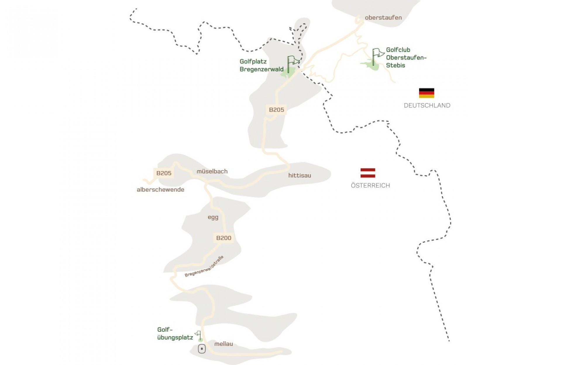 Golfen & Golfplätze in Vorarlberg