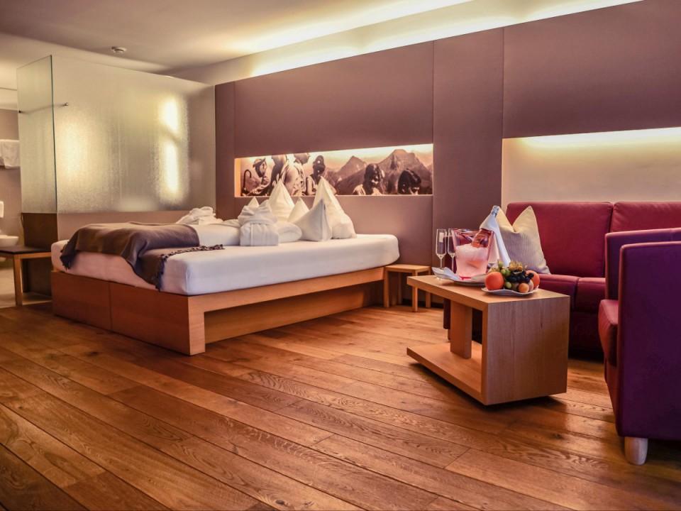 Penthouse Design Zimmer mit offenem Bad