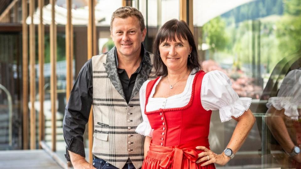 Ihre Gastgeber Natalie und Michael Läßer