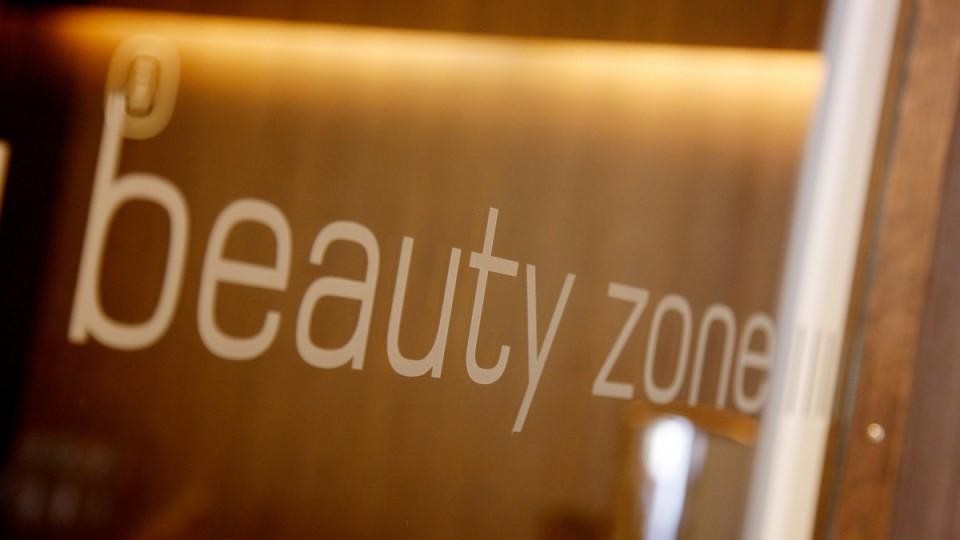 Eingangsbereich zur beauty zone