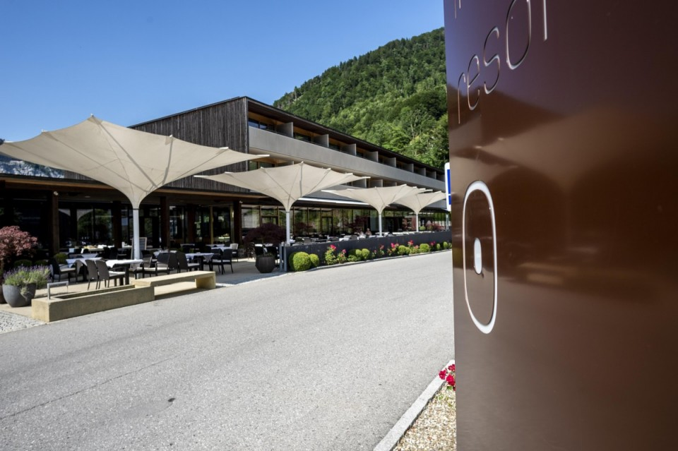Sonnen-Terrasse für Genießer im Sonne Hotel Mellau-Damüls in Vorarlberg