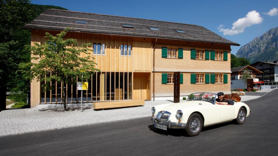Tourenfahrer Hotel in Österreich