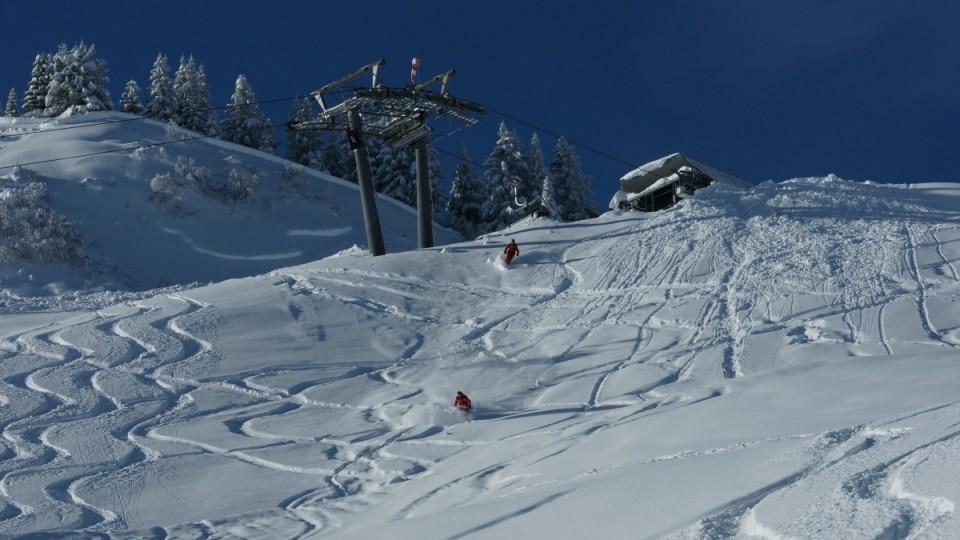 Webcam im Skigebiet Mellau