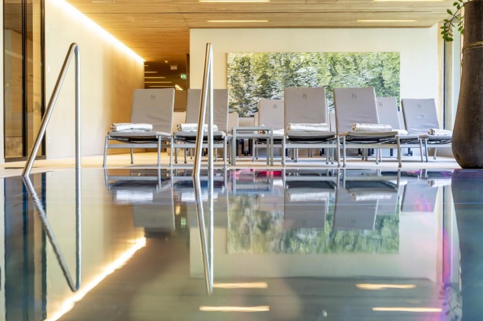 Hotel mit Hallenbad in Mellau, Vorarlberg, für Erwachsene