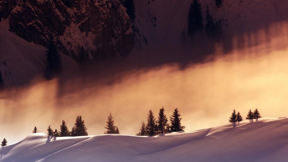 Winterstimmung Bregenzerwald