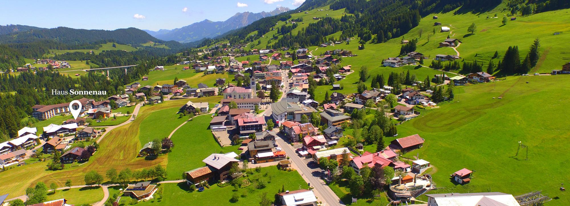 Lageskizze Haus Sonnenau