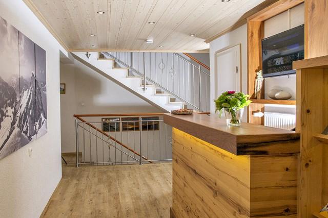 Empfang Gästehaus Tannegg