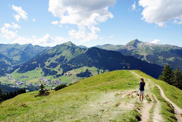 Panorama, Wandern, Kleinwalsertal
