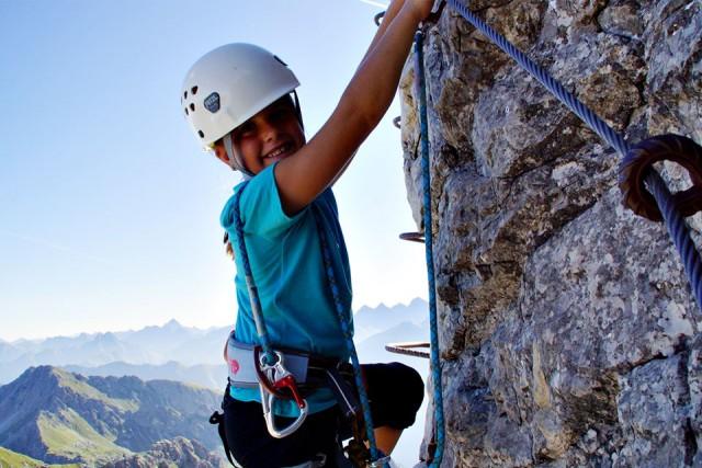 Bergabenteuer und Klettern
