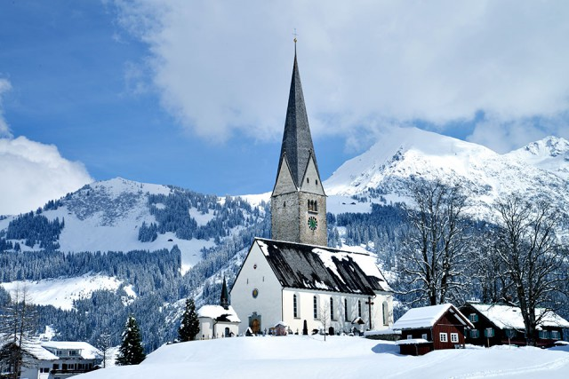 Winter in Mittelberg