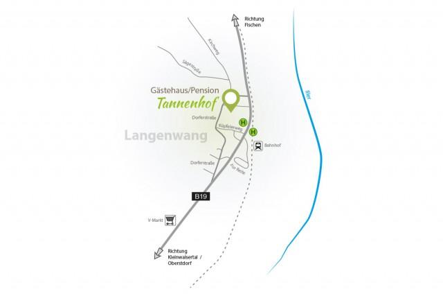 Lage des Tannenhof