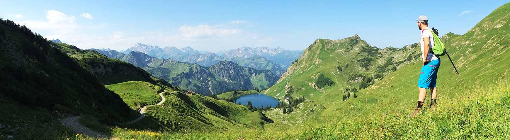 Sommerparadies & Berge satt