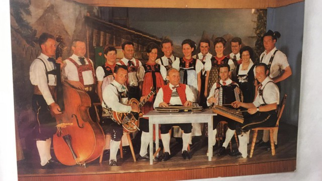 Trachtengruppe 1965-1967