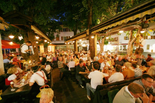 Biergarten in Oberstdorf & Restaurant