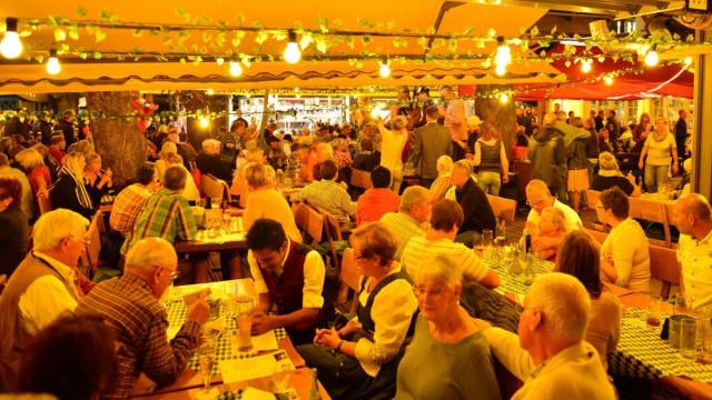 Restaurant in Oberstdorf mit Biergarten und alpenländischer Gemütlichkeit