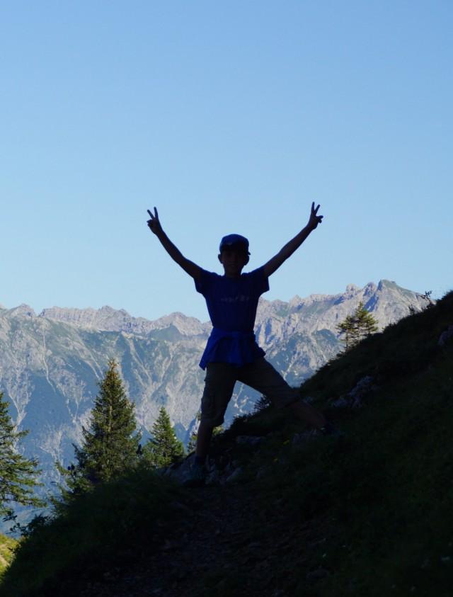 Wandern, Bergtouren und Berge genießen