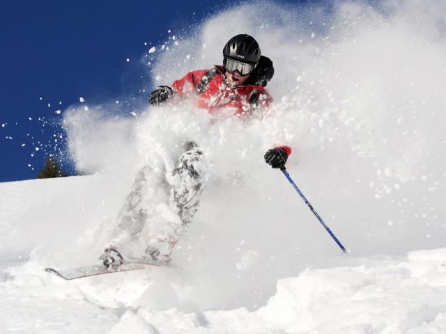 Skifahren in Oberstdof im Allgäu