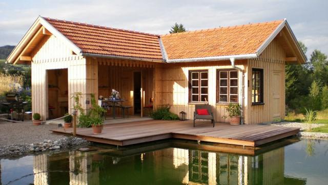 Kleines Holzhaus, Bungalow & Ferienhaus als Holzhaus Fertighaus bauen